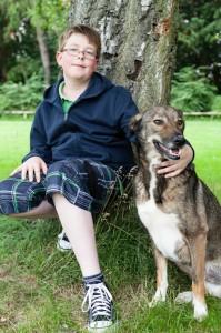 Bruno und sein Menschenfreund Norman - ein Herz und eine Seele
