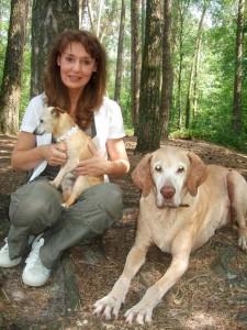 Sommer 2010 mit Lea und Patch