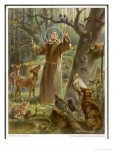 Franz von Assisi - Der Künstler dieses Bildes ist mir leider nicht bekannt